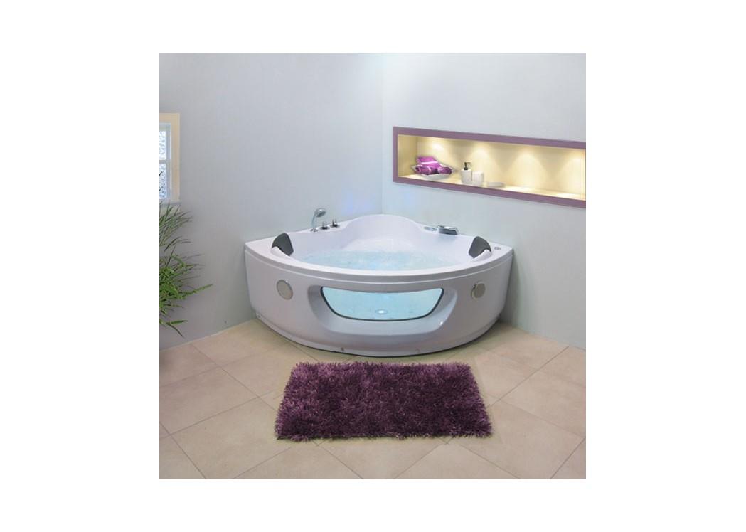 baignoire balneo d 39 angle deux personnes macao 26 jets. Black Bedroom Furniture Sets. Home Design Ideas