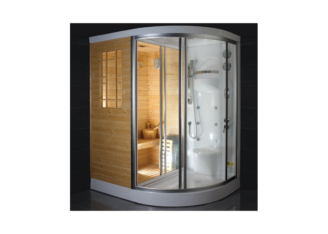 cabine de douche hammam sauna himalaya. Black Bedroom Furniture Sets. Home Design Ideas