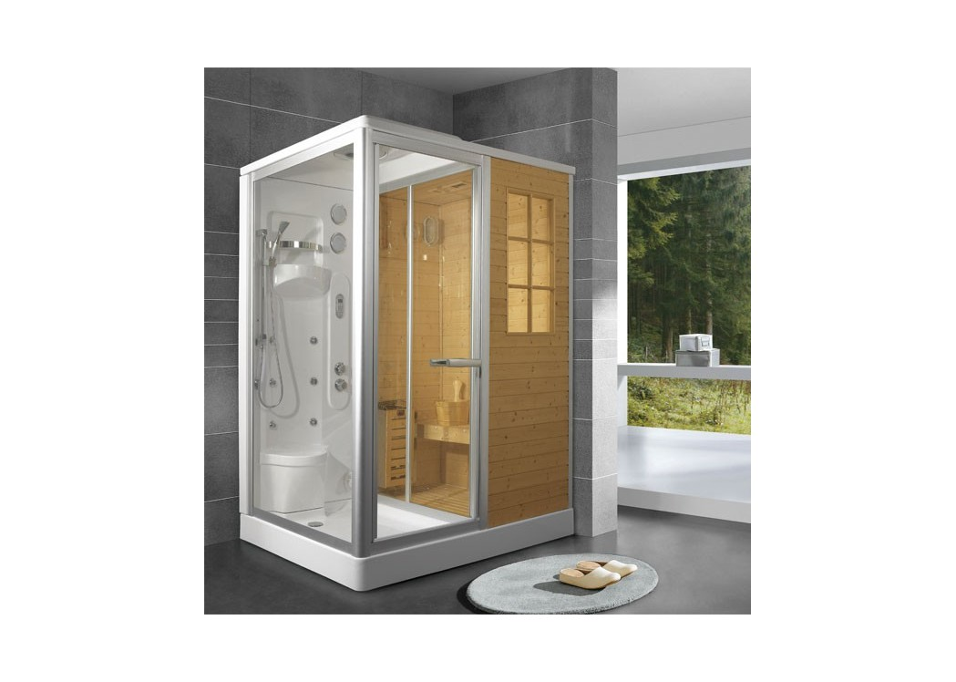 cabine de douche hammam sauna stockholm. Black Bedroom Furniture Sets. Home Design Ideas