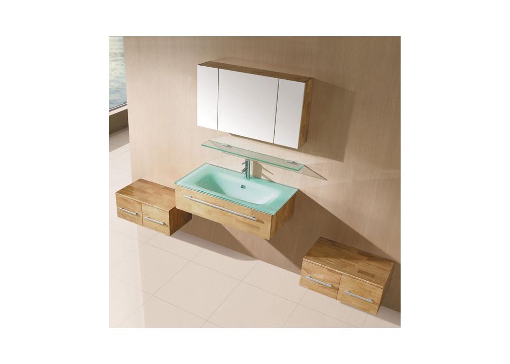 meuble salle de bain weng sd630w. Black Bedroom Furniture Sets. Home Design Ideas