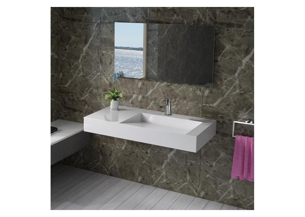 plan vasque solid surface r f sdpw12 c distribain. Black Bedroom Furniture Sets. Home Design Ideas
