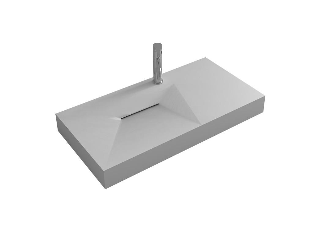 plan vasque solid surface r f sdwd38427 distribain. Black Bedroom Furniture Sets. Home Design Ideas