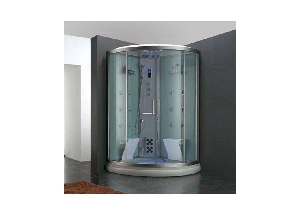 Cabine de douche hammam pour deux personnes esperance - Grande cabine de douche ...
