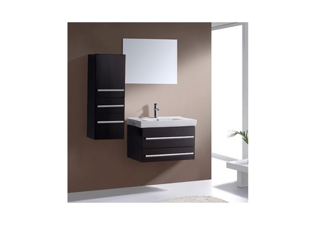 meuble double vasque meuble de salle de bain gris dis911gt sur. Black Bedroom Furniture Sets. Home Design Ideas