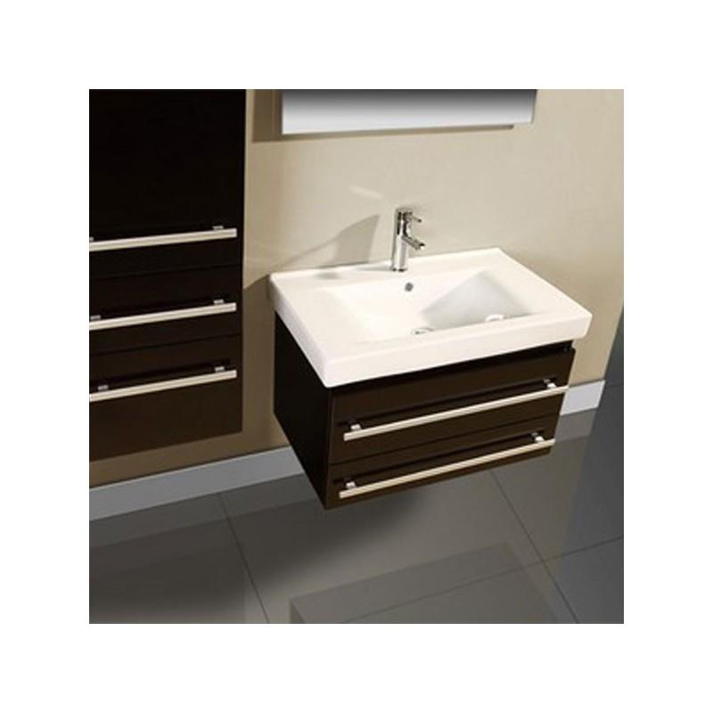 Meuble double vasque meuble de salle de bain gris for Meuble salle de bain taupe