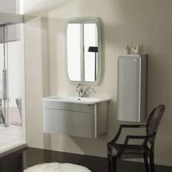 Large gamme de meubles de salle de bain design simple for Caler un meuble