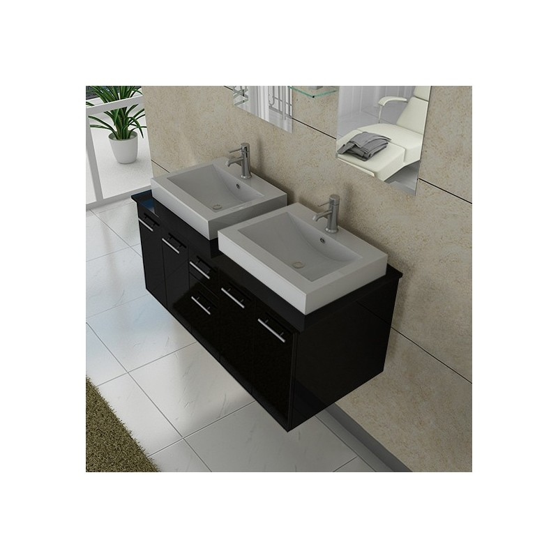 meuble simple vasque meuble de salle de bain rouge dis983co sur. Black Bedroom Furniture Sets. Home Design Ideas