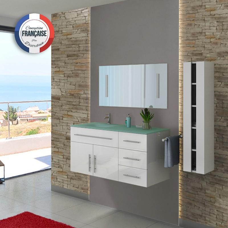 Meuble simple vasque dis945b for Meuble salle de bain prix