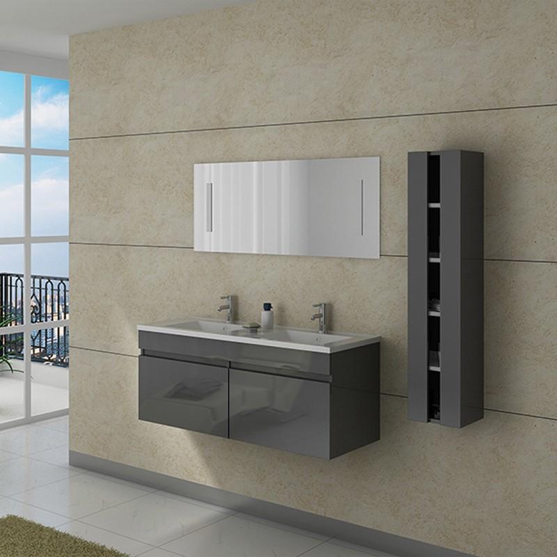Meuble double vasque dis980gt for Meuble salle de bain prix