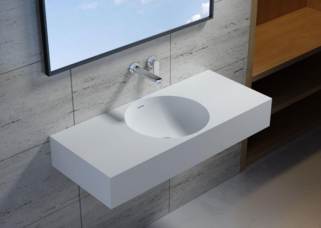 plan vasque suspendu sdpw76 distribain. Black Bedroom Furniture Sets. Home Design Ideas