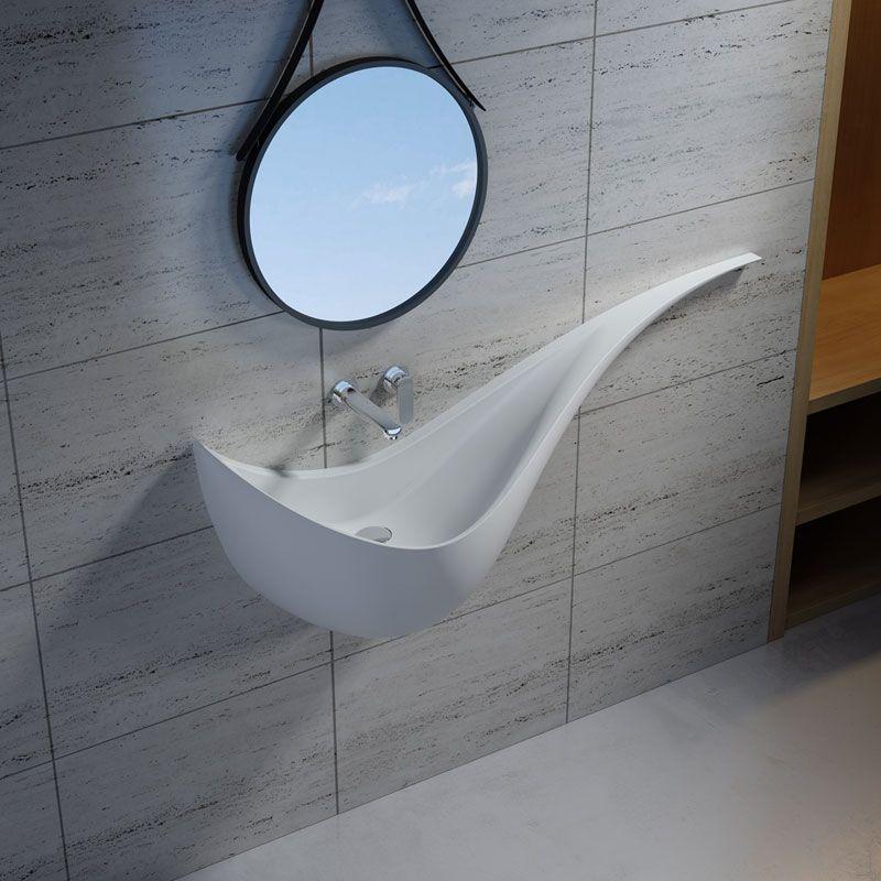 Vasque en polystone hyper moderne SDPW62