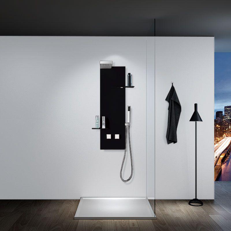 Colonne de douche noire S050B