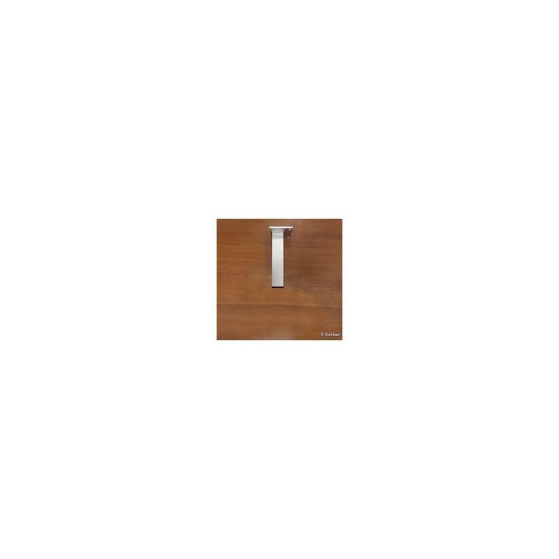 Pieds carr s 180 mm distribain for Hauteur meuble salle de bain sur pied