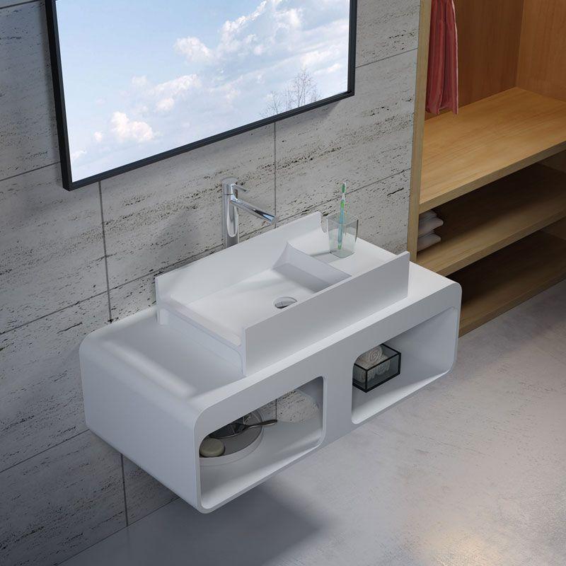 Ensemble plan de toilette et vasque à poser SDK52 + SDV71