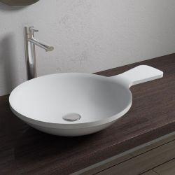 Vasque ronde SDV12 avec porte-savon