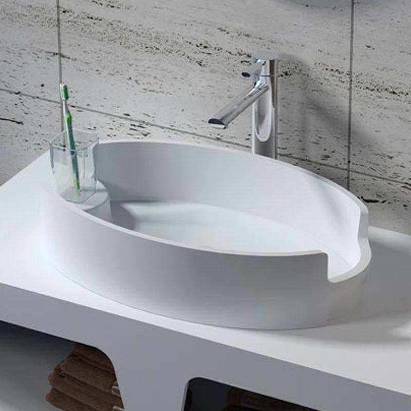 Vasque à poser en solid surface SDV70