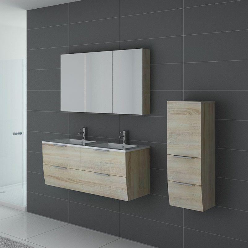 ensemble de salle de bain double vasque livourne scandinave meuble de salle de bain deux. Black Bedroom Furniture Sets. Home Design Ideas
