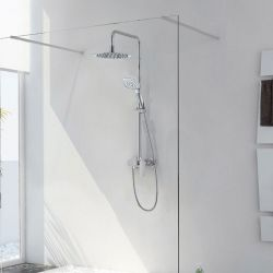 Colonne de douche avec pomme de douche LUXURIA Mit
