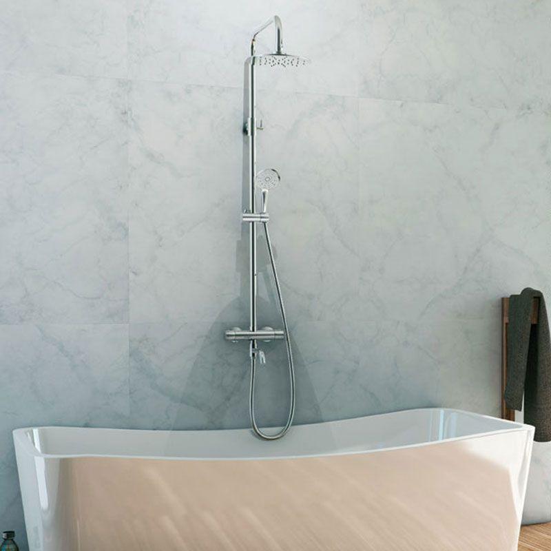 colonne de douche avec robinet pour baignoire colonne de douche pour douche italienne distribain. Black Bedroom Furniture Sets. Home Design Ideas
