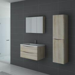 Meuble de salle de bain 1 vasque TREVISE 800 Scandinave