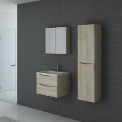 Ensemble salle de bain 1 vasque TREVISE 600 Scandinave
