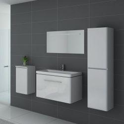 Ensemble de salle de bain SORRENTO Blanc