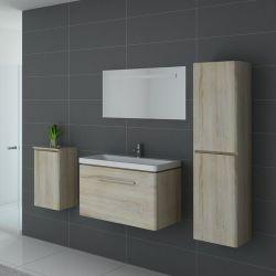 Meuble simple vasque SORRENTO Scandinave