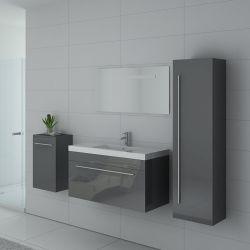 Meuble simple vasque SANREMO Gris Taupe