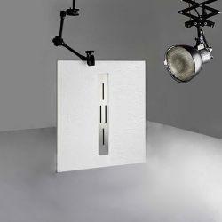 Receveur de douche en gel coat Ardesia Blanc 100x80cm