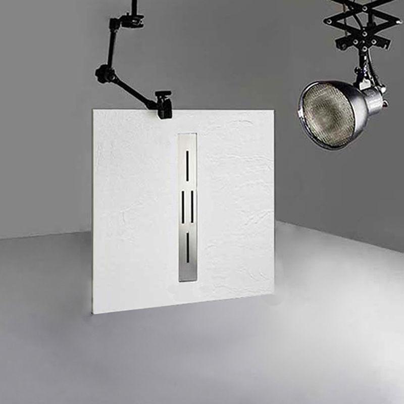 Receveur de douche en gel coat Ardesia Blanc 100x90cm