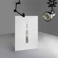 Receveur de douche en gel coat Ardesia Blanc 120x80cm