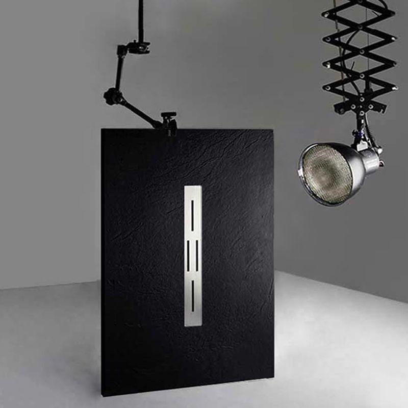 Receveur de douche en gel coat Ardesia Noir 140x90cm