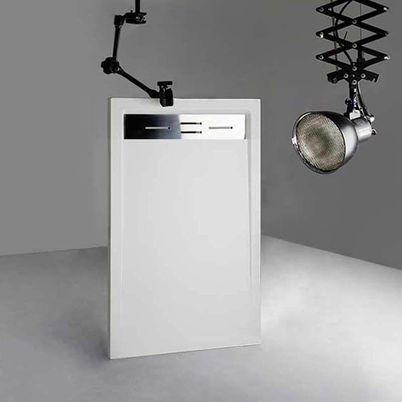 Receveur de douche en Gel coat CANTO Blanc 140x80cm