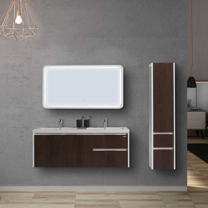 Ensemble de salle de bain simple vasque CASORIA 1200