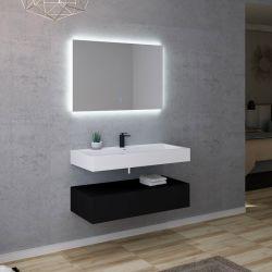 Salle de bain design AVELLINO 1000N