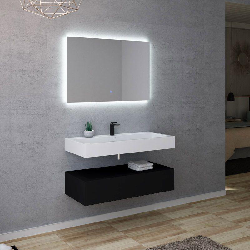 Meuble de salle de bain AVELLINO 1000N