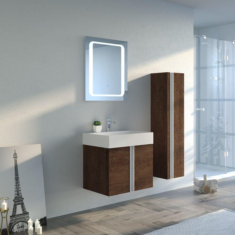 Meuble de salle de bain BOREAL 600
