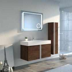 Dimensions Meuble simple vasque BOREAL 1000