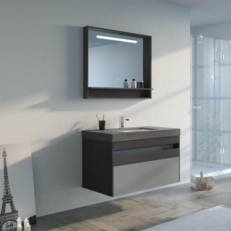 Ensemble de meuble de salle de bain TERRATI 1000SC-N