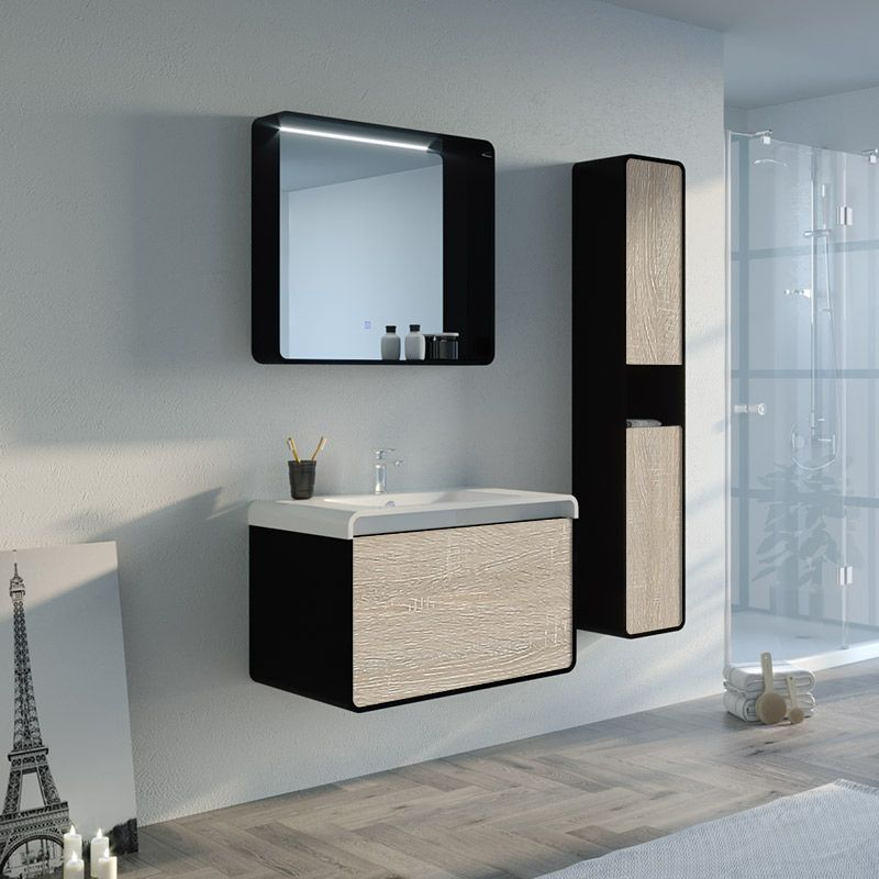 Meuble de salle de bain LUMARZO 800SC-N