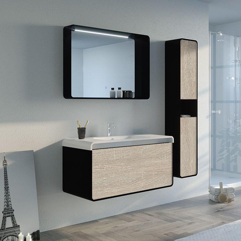 Meuble de salle de bain LUMARZO 1000SC-N