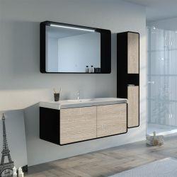 Meuble de salle de bain LUMARZO 1200SC-N