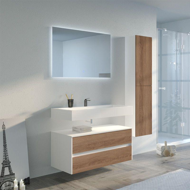 Meuble de salle de bain simple vasque VISENZA 1000 SV