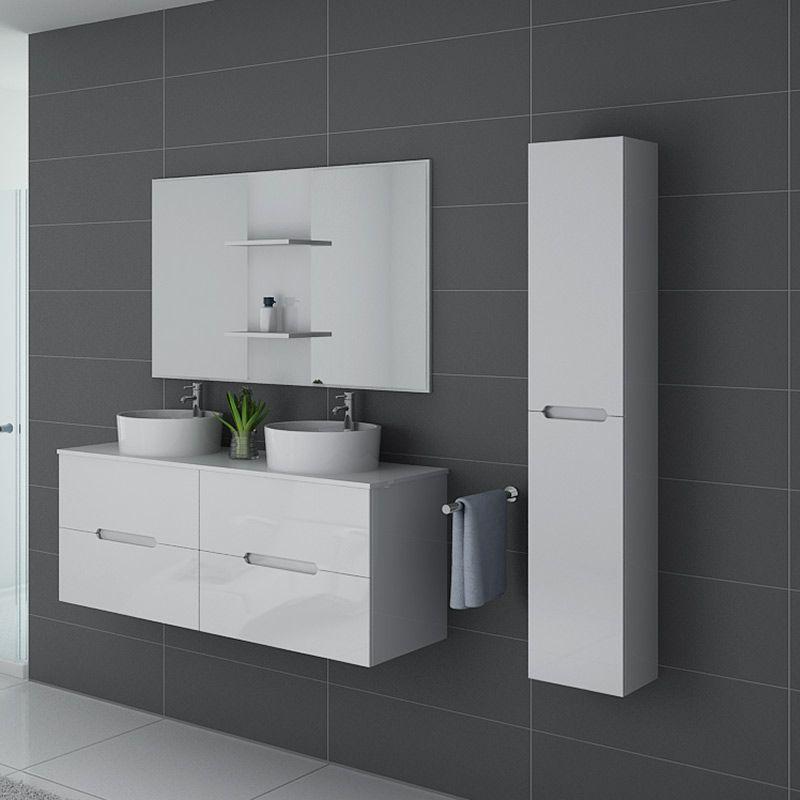 Meuble de salle de bain Rivalto Blanc