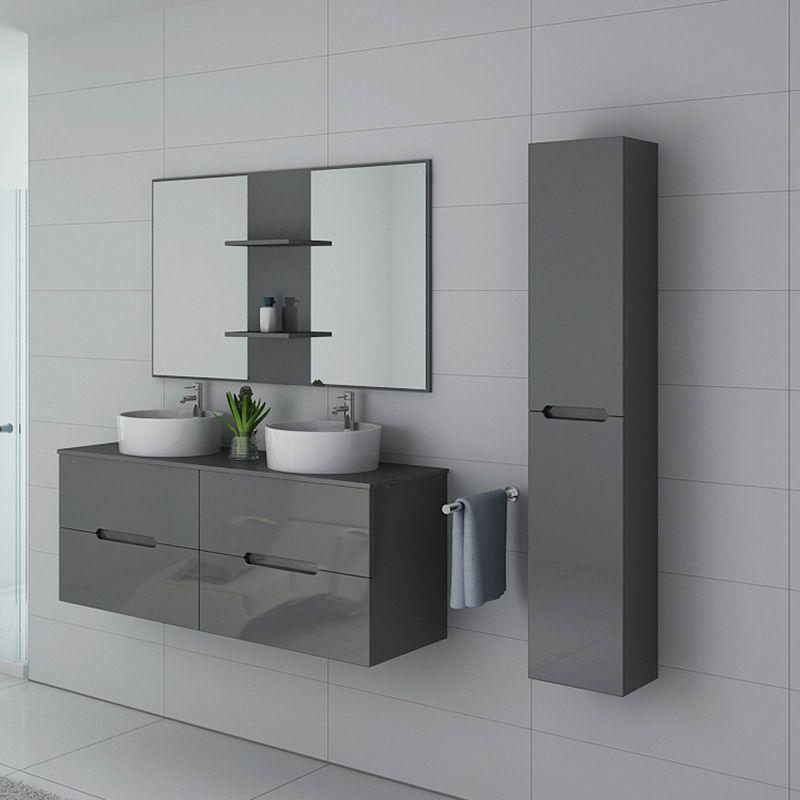 Meuble de salle de bain Rivalto Gris Taupe