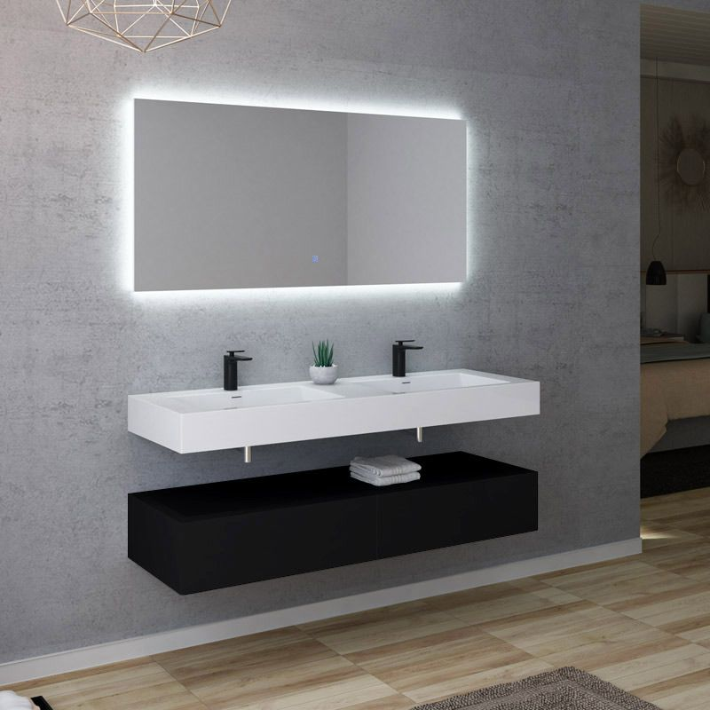 Meuble de salle de bain AVELLINO 1400N