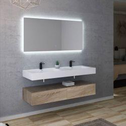Meuble de salle de bain AVELLINO 1400SC