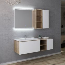 Dimensions Meuble simple vasque ALASSIO 800