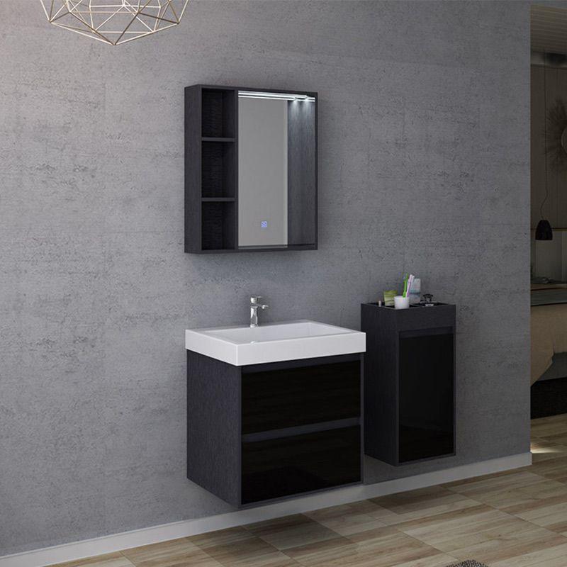 Meuble de salle de bain finition verre BRIANZA 600
