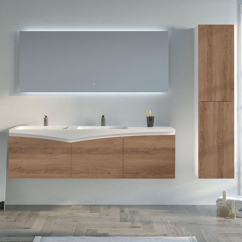Meuble de salle de bain design CAGLIARI 1600